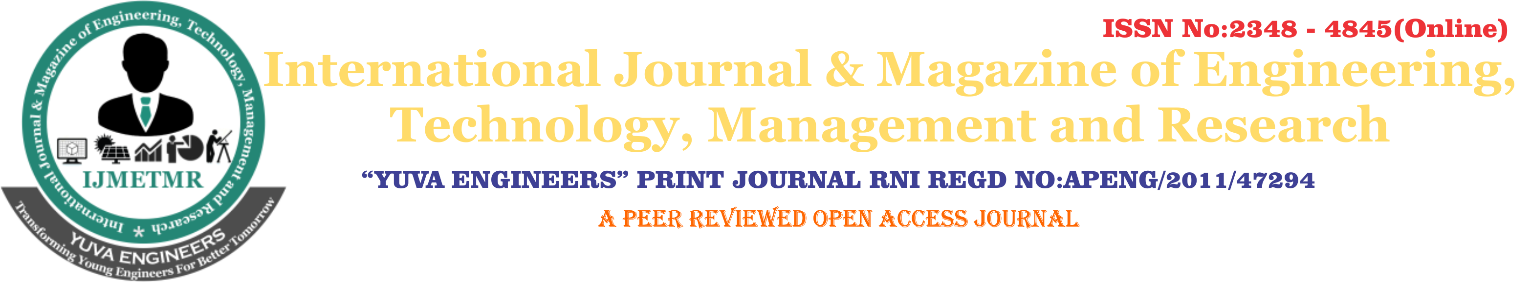 International Journal & Magazine of Engineering, Technology, Management and Research